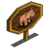 Strawberry Pig Mastery Sign-icon
