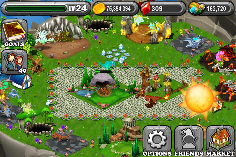 DragonVale Breeding Island