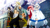 Equipo de Sabertooth Anime