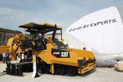 Caterpillar AP555E paver at Hillhead 2012 - IMG 1019