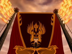 Phoenix King Ozai coronation