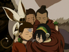 Team Avatar group hug