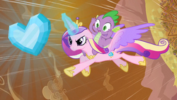 Princess Cadance takes the Crystal Heart S3E02