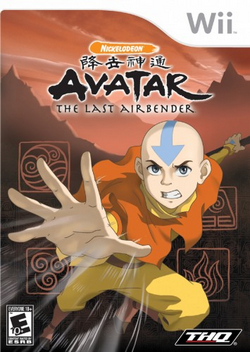 Avatar - The Last Airbender wii game