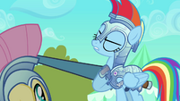 Rainbow Dash &quot;The fate of an entire empire rests on us&quot; S3E02
