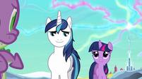 Shining Armor &#39;Everything&#39;s gonna be okay&#39; S3E2