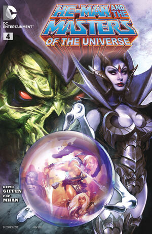 Cover for He-Man and the Masters of the Universe #4