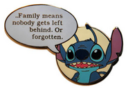 Stitch quote pin