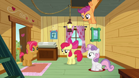 Apple Bloom &#39;excuse us for a moment&#39; S3E04