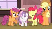 Sweetie Belle &#39;I&#39;m just so excited&#39; S3E4