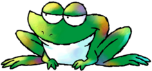 Prince Froggy Art (Super Mario World 2 - Yoshi&#39;s Island)