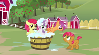Scootaloo &#39;we were the reason it was headed into the lake&#39; S3E04