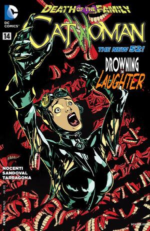 Cubierta para Catwoman # 14