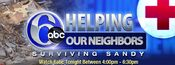 WPVI-TV's Channel 6 Action News' Helping Neighbors, Surviving Sandy Video Promo For November 2, 2012