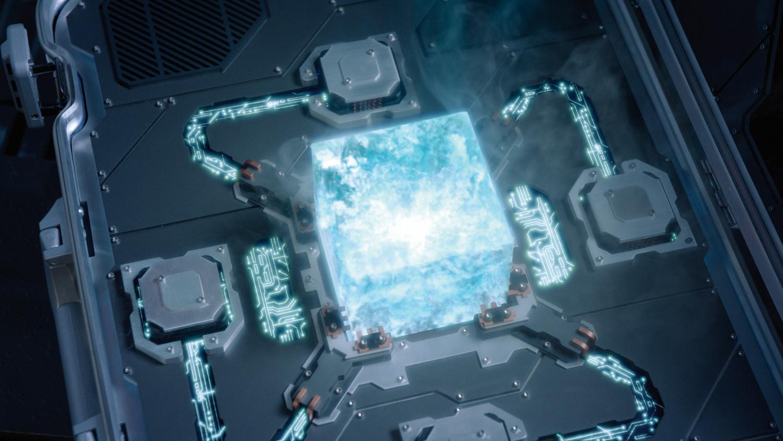 iron fist cosmic cube jpg 422x640