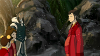 Korra and Pema