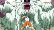 Toriko punching Silverback