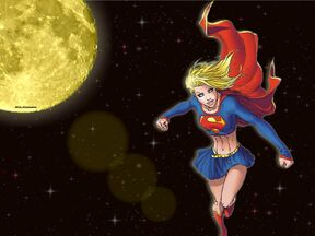 Supergirl Space