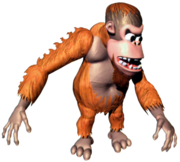 Manky Kong Art (Donkey Kong Country)