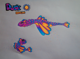 Dusk Dragon (Drawn)