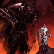 Morgoth and fingolfin by shadcarlos-d31bi72