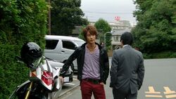 Haruto confronts Kizaki
