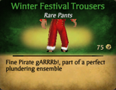 Winter Festival Pants