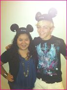Raini Rodriguez Ross Lynch Mickey Mouse Ears