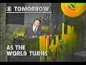 CBS Daytime's As The World Turns Video Promo From June 1980