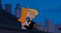 Candace and Jeremy kiss for the second time