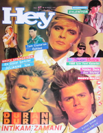 Turkey turkish magazine hey duran duran wikipedia 1987