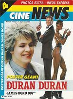Cine-news-numero-4-septembre-1985-duran-duran-james-bond MAGAZINE WIKIPEDIA FRANCE
