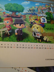 New leaf march calendar
