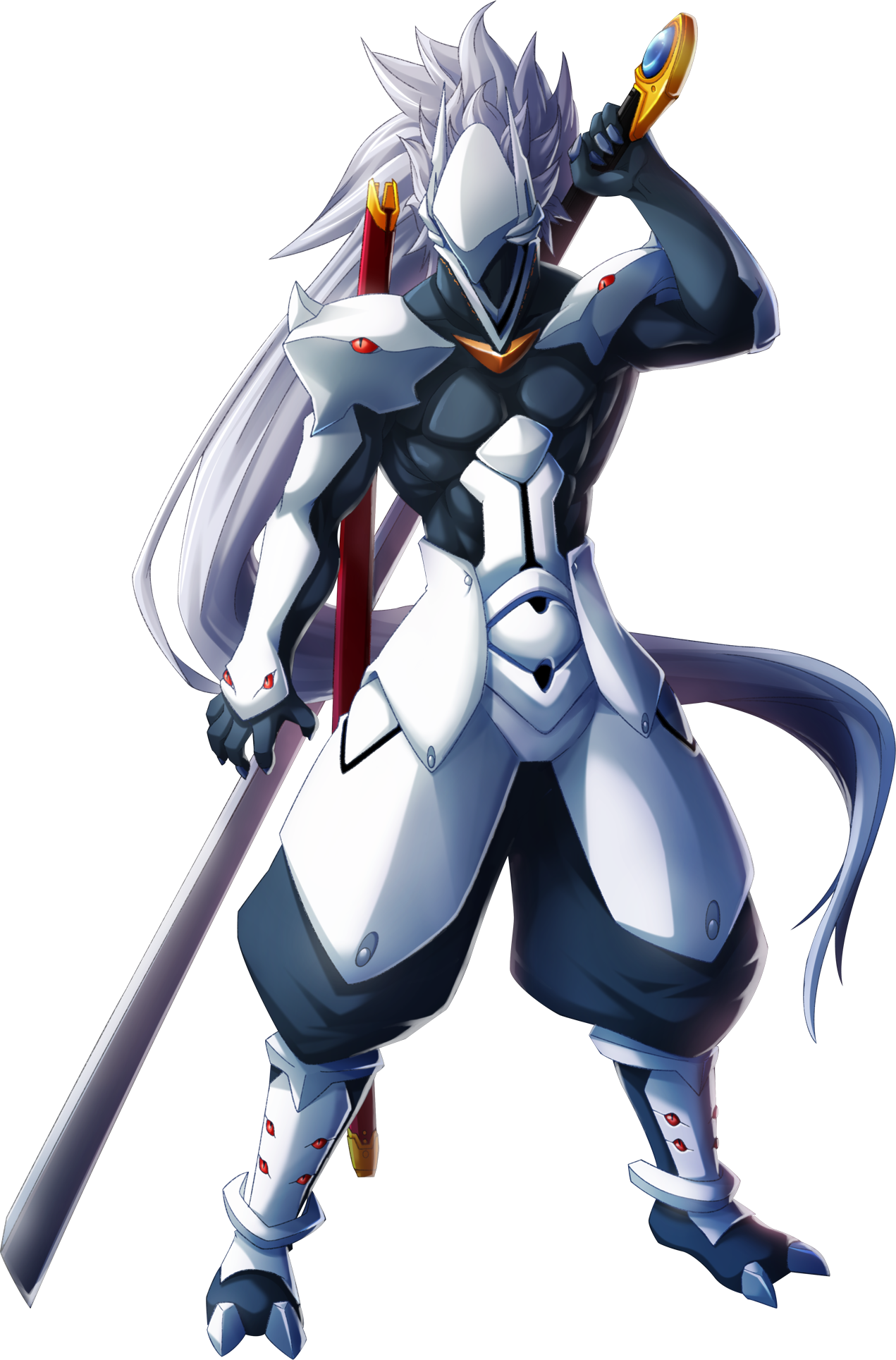 Hakumen ID [En proceso] Hakumen_(Chronophantasma,_Character_Select_Artwork)