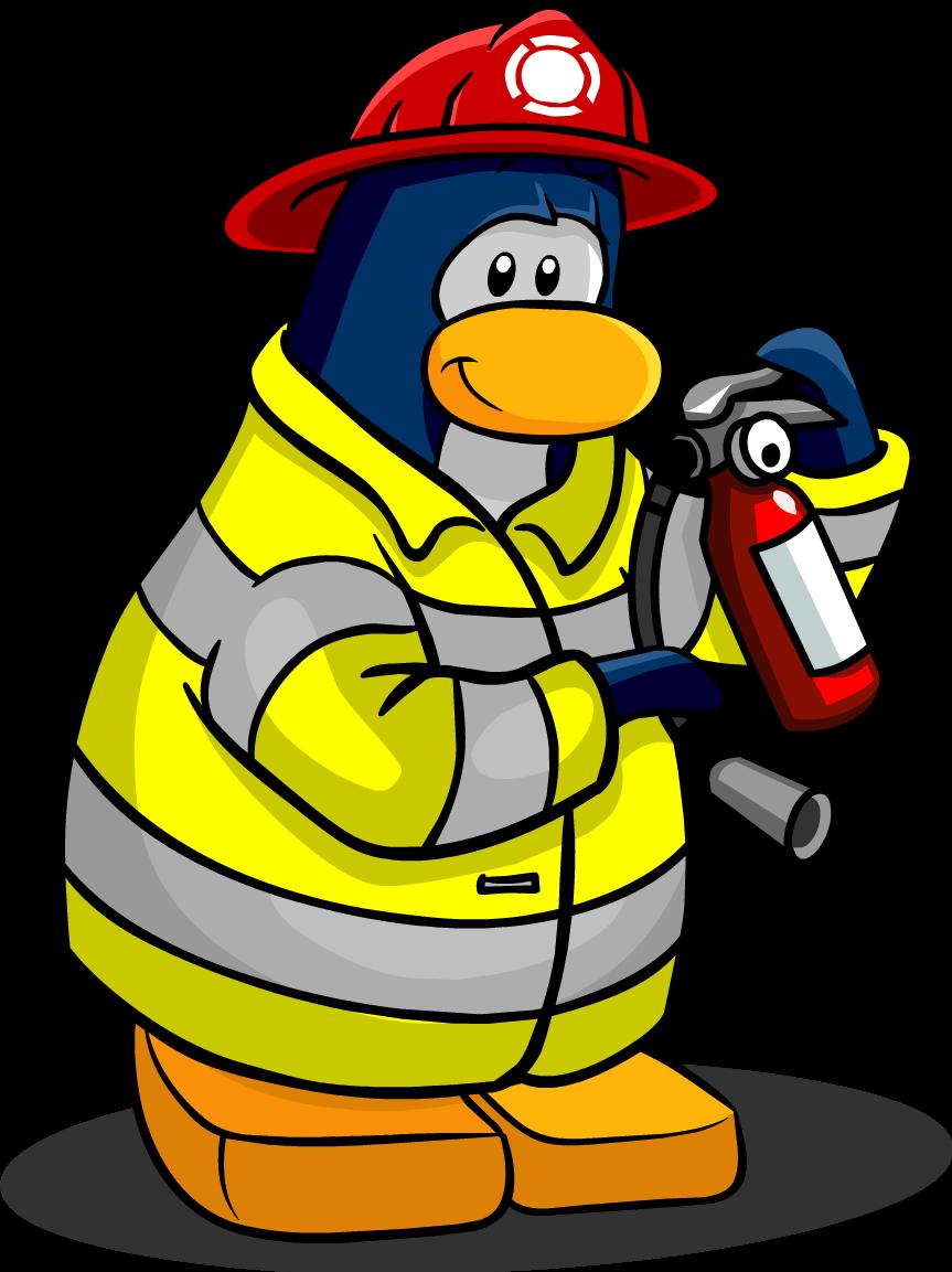 G Club Penguin Wiki Firefighter - Club Pen...