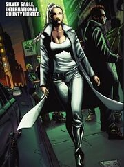 Silver Sable in New York during Shadowland
