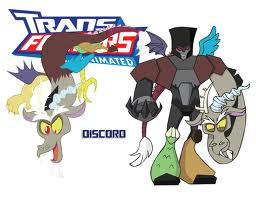My little pony transformers