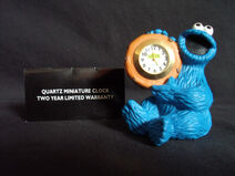 Fantasma cookie monster clock