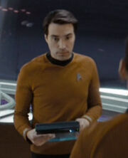 Enterprise bridge officer 6 2258
