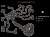 Ancient Guthix Temple map