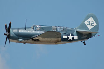 Curtiss SB2C Helldiver CAF