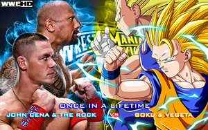 Wrestlemania 28 once in a lifetime wwe vs anime by gonzalossj3-d5hbg9