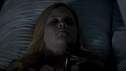 Rebekah's daggered body