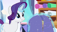 Rarity 'flew a flag of many hues' S3E1