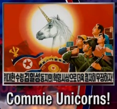Commie unicorns!