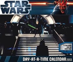 Day-At-A-Time Calendar 2013