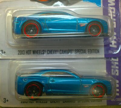 2013 HOTWHEEL CAMARO