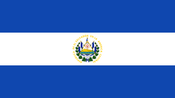 Flag of El Salvador svg