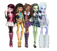 Ghouls of monster high