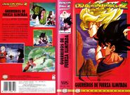 VHS DRAGON BALL Z LAS PELICULAS MANGA FILMS 6